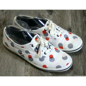 Keds for Kate Spade womens Polka Dot White Sneaker